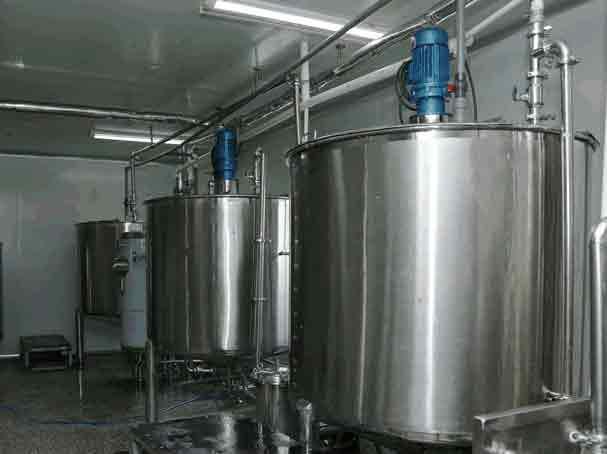 乐汇饮料糖浆(部分)生产车间